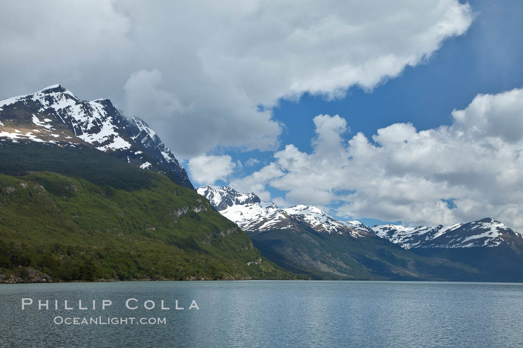Lago Roca in Tierra del Fuego