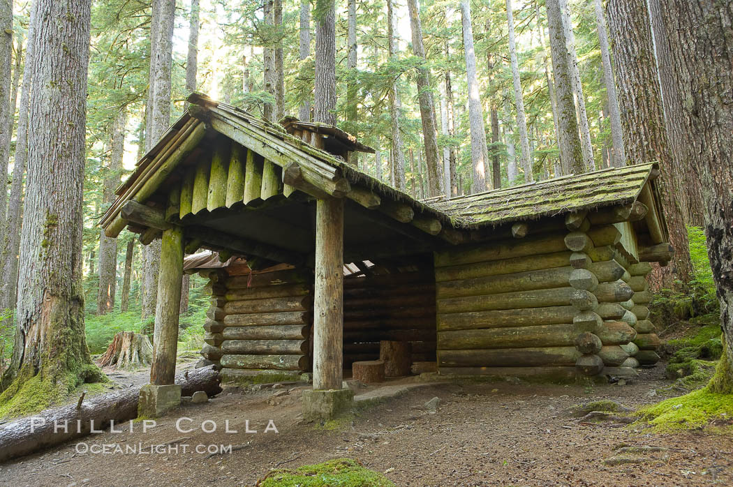 Awesome Log Cabin On The Trail To Sol Duc Falls, Sol Duc Springs, Olympic National