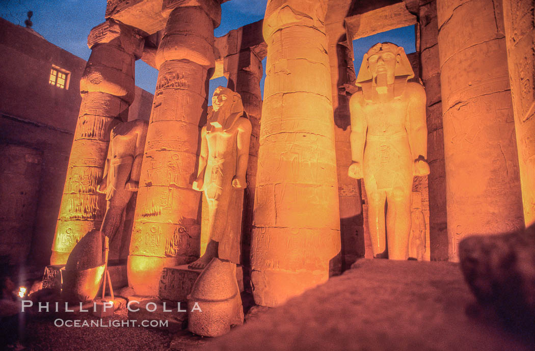 Luxor Temple Photo, Stock Photo of Luxor Temple, Phillip Colla ...