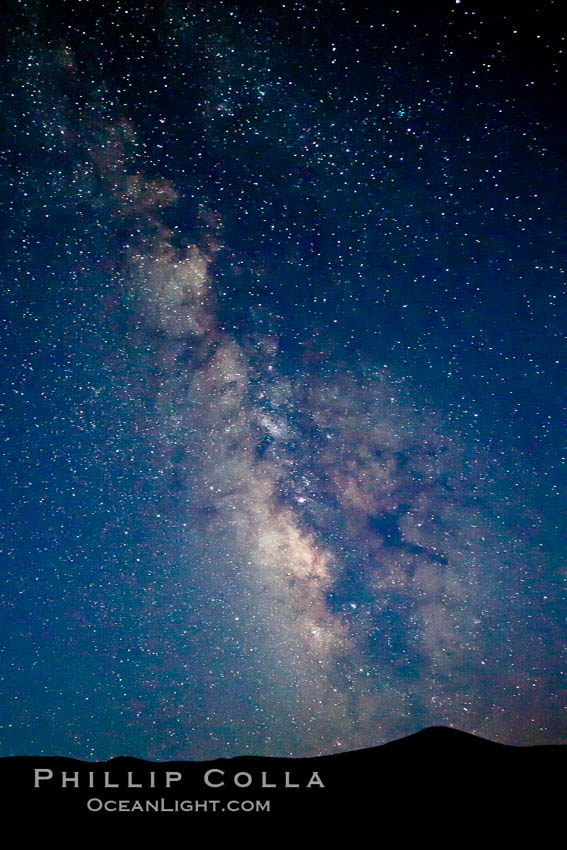 The Milky Way on a clear night. Milky Way Galaxy, The Universe, natural history stock photograph, photo id 25344