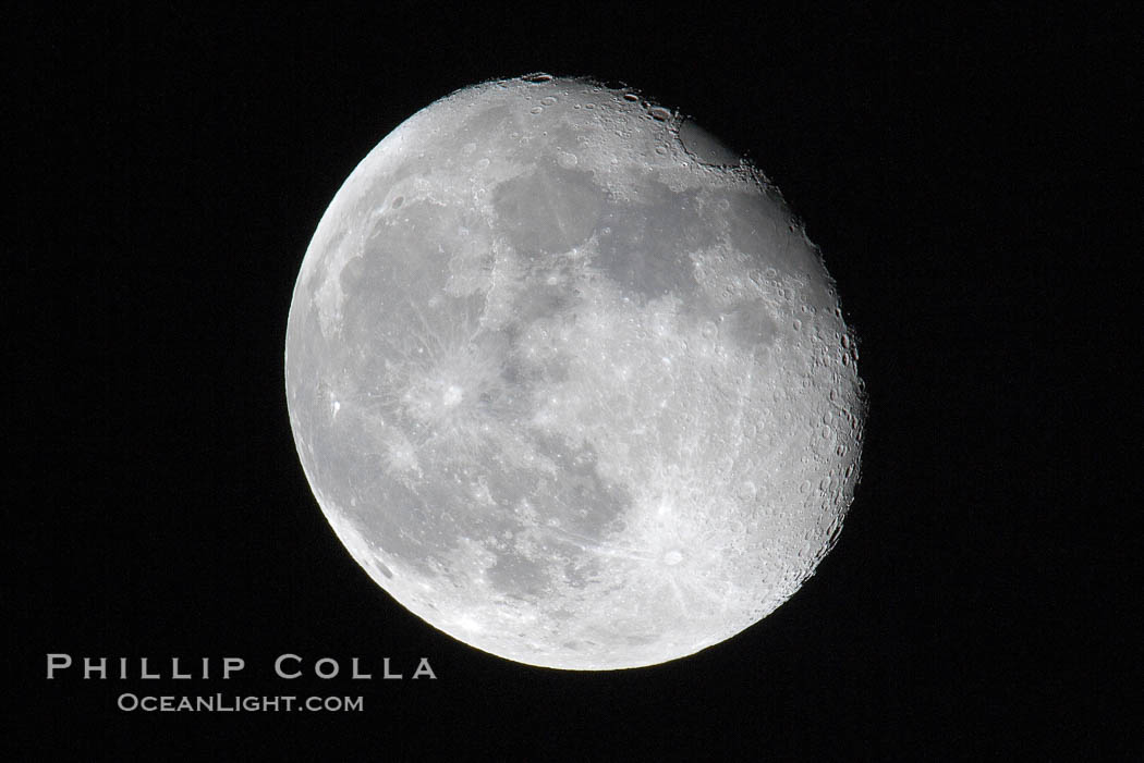 The Moon.,  Copyright Phillip Colla, image #17474, all rights reserved worldwide.
