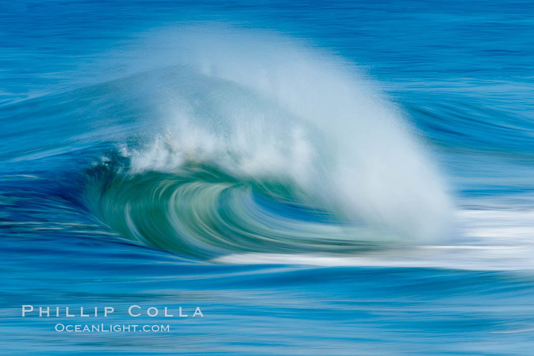 Breaking wave, fast motion and blur. The Wedge. The Wedge, Newport Beach, California, USA, natural history stock photograph, photo id 14355