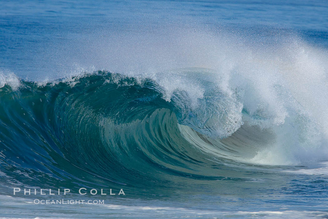 Breaking wave. The Wedge. The Wedge, Newport Beach, California, USA, natural history stock photograph, photo id 14371