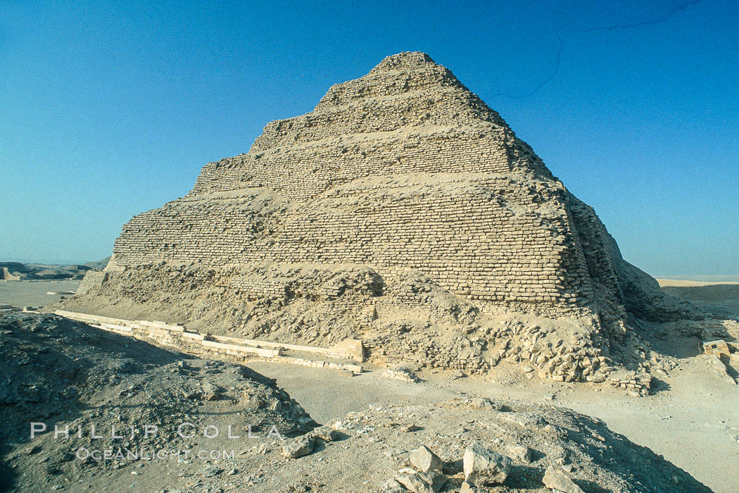 Step pyramid of Djoser (Zoser), Saqqara, Egypt