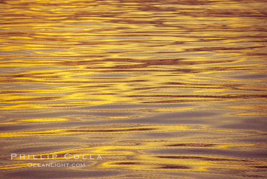 Sunset and water, Sea of Cortez.,  Copyright Phillip Colla, image #00285, all rights reserved worldwide.