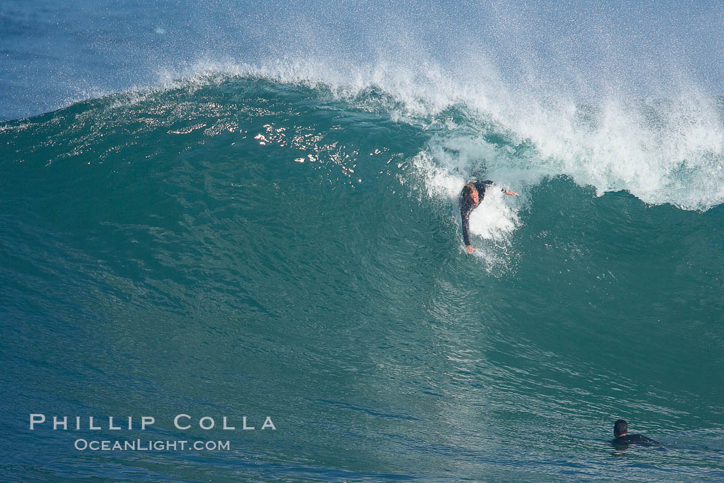 Boomer Beach, bodysurfing.,  Copyright Phillip Colla, image #18280, all rights reserved worldwide.