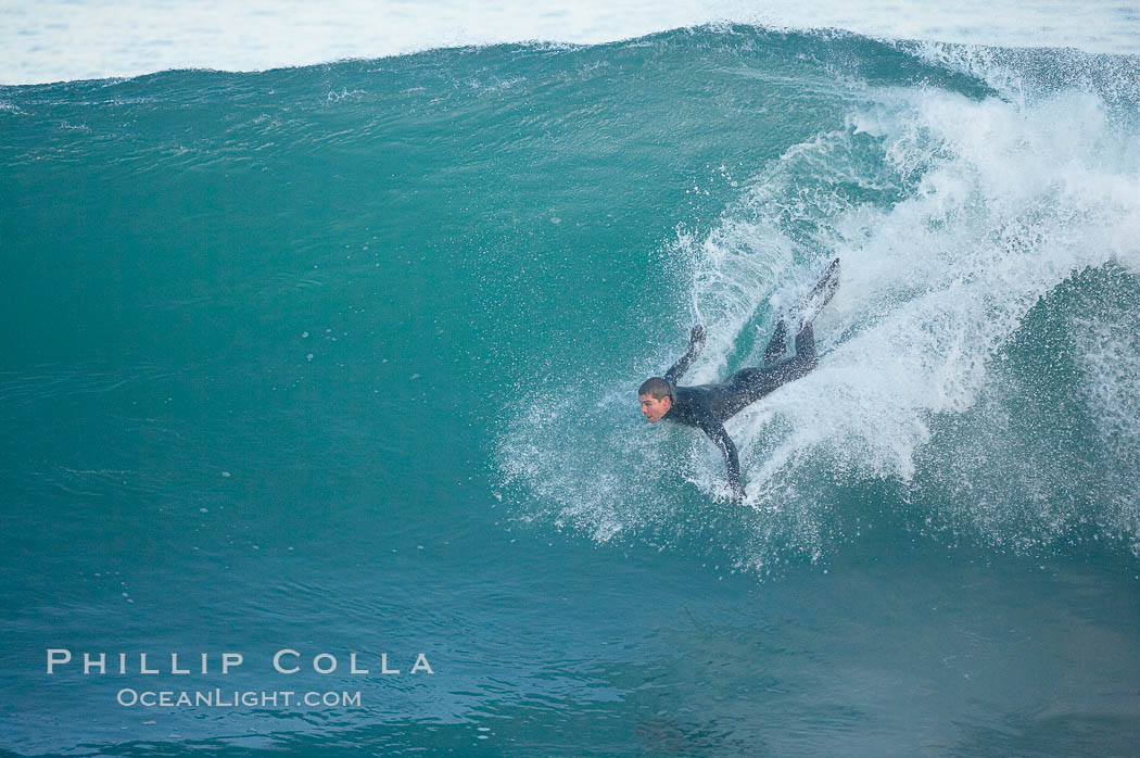 Boomer Beach, bodysurfing.,  Copyright Phillip Colla, image #18281, all rights reserved worldwide.