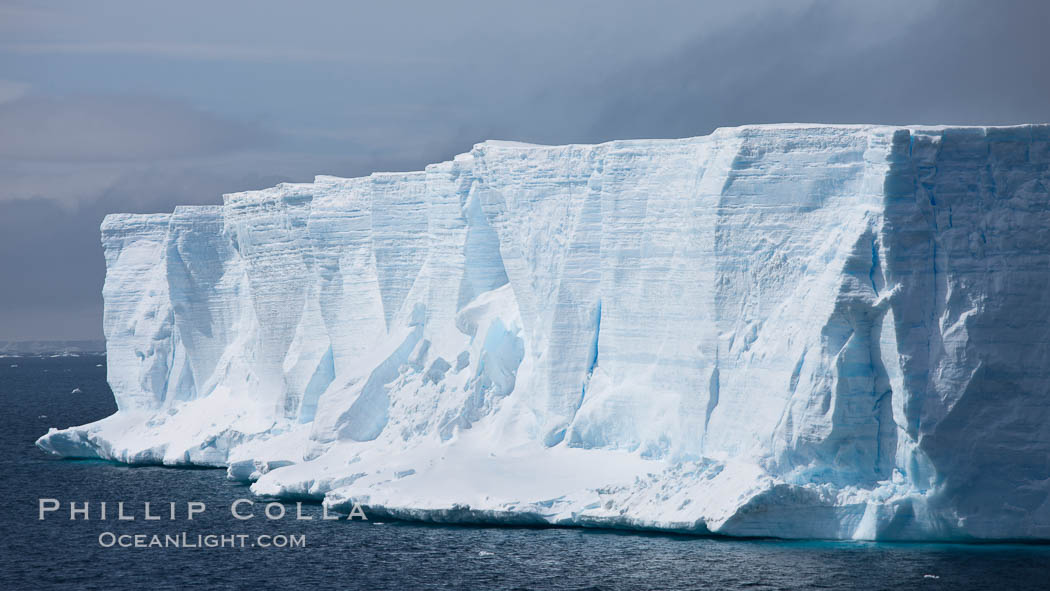Tabular iceberg in the Antarctic Sound