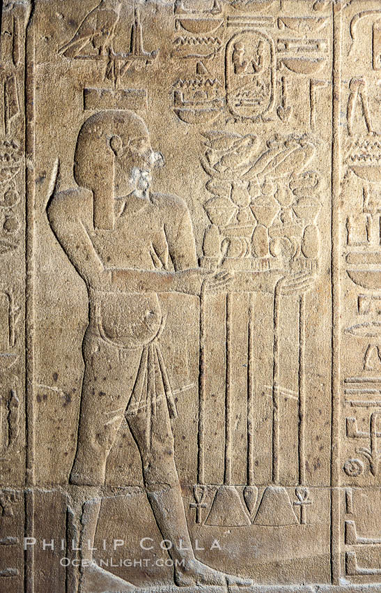 Wall detail, Luxor Temple