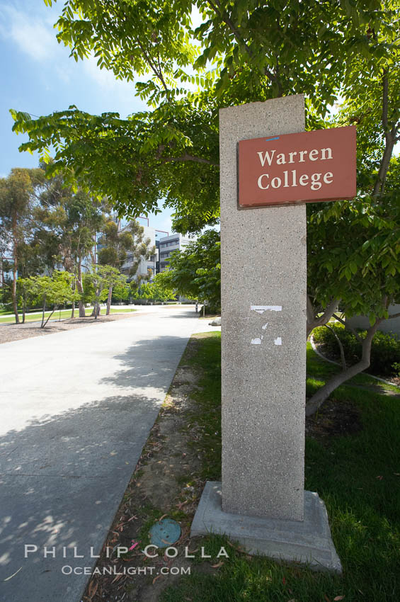 Warren College, University of California, San Diego (UCSD). University of California, San Diego, La Jolla, California, USA, natural history stock photograph, photo id 20841