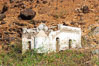 Remains of a small chapel and prison, north end of Guadalupe Island (Isla Guadalupe). Guadalupe Island (Isla Guadalupe), Baja California, Mexico. Image #09728