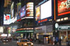 Neon lights fill Times Square at night. New York City, USA. Image #11204