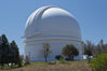 The Palomar Observatory, located in north San Diego County California, is owned and operated by the California Institute of Technology. The Observatory supports the research of the Caltech faculty, post-doctoral fellows and students, and the researchers at Caltechs collaborating institutions. Palomar Observatory is home to the historic Hale 200-inch telescope. Other facilities on the mountain include the 60-inch, 48-inch, 18-inch and the Snoop telescopes. USA. Image #12702