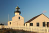 The old Point Loma lighthouse operated from 1855 to 1891 above the entrance to San Diego Bay.  It is now a maintained by the National Park Service and is part of Cabrillo National Monument. California, USA. Image #14523