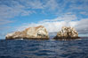 Gordon Rocks, a spectacular dive site near South Plaza Island. Galapagos Islands, Ecuador. Image #16646