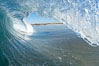 Breaking wave, Ponto, South Carlsbad. Ponto, Carlsbad, California, USA. Image #17681