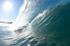 Breaking wave, Ponto, South Carlsbad. Ponto, Carlsbad, California, USA. Image #17697