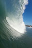 Cardiff, morning surf. Cardiff by the Sea, California, USA. Image #17888