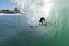 Jetties, Carlsbad, morning surf. Warm Water Jetties, Carlsbad, California, USA. Image #17905