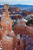 Bryce Canyon hoodoos line all sides of the Bryce Amphitheatre. Bryce Canyon National Park, Utah, USA. Image #18613