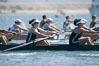 St. Mary's women race in the finals of the Women's Cal Cup final, 2007 San Diego Crew Classic. Mission Bay, California, USA. Image #18647