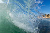 Afternoon tiny wave. Tabletop, Cardiff by the Sea, California, USA. Image #18972