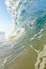Breaking wave, early morning surf. Ponto, Carlsbad, California, USA. Image #19408