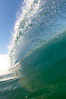 Cresting wave, morning light, glassy water, surf. Cardiff by the Sea, California, USA. Image #20811