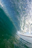 Cresting wave, morning light, glassy water, surf. Cardiff by the Sea, California, USA. Image #20815