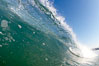 Cresting wave, morning light, glassy water, surf. Cardiff by the Sea, California, USA. Image #20817