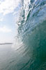 Breaking wave, morning surf, curl, tube. Ponto, Carlsbad, California, USA. Image #20883