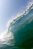 Breaking wave, morning surf, curl, tube. Ponto, Carlsbad, California, USA. Image #20884