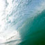 Breaking wave, morning surf, curl, tube. Ponto, Carlsbad, California, USA. Image #20886