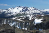 Blackcomb Mountain viewed from the Whistler gondola. British Columbia, Canada. Image #21012