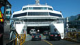 Ferry to Vancouver Island, cars loading at Horseshoe Bay. British Columbia, Canada. Image #21188