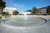 Fountain in Revelle Plaza, Revelle College, University of California San Diego, UCSD. Image #21218