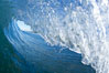 Wave breaking in early morning sunlight. Ponto, Carlsbad, California, USA. Image #21785