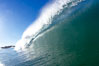 Wave breaking in early morning sunlight. Ponto, Carlsbad, California, USA. Image #21786