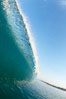 Cardiff morning surf, breaking wave. Cardiff by the Sea, California, USA. Image #23296