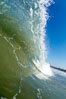 Cardiff morning surf, breaking wave. Cardiff by the Sea, California, USA. Image #23300