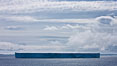 Tabular iceberg in the Antarctic Sound. Antarctic Peninsula, Antarctica. Image #24784