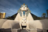 Egyptian Sphinx, replica, front entrance of the Luxor Hotel in Las Vegas. Nevada, USA. Image #25216