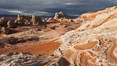 White Pocket, sandstone forms and colors are amazing. Vermillion Cliffs National Monument, Arizona, USA. Image #26622