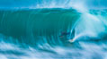 Breaking wave fast motion and blur. The Wedge. The Wedge, Newport Beach, California, USA. Image #27074