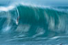 Breaking wave fast motion and blur. The Wedge. The Wedge, Newport Beach, California, USA. Image #27075
