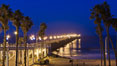 Oceanside Pier at sunrise, dawn, morning. California, USA. Image #27230
