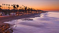 Sunrise on the coast of Oceanside California. USA. Image #27232