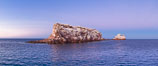 Los Islotes Island, famous for its friendly colony of California sea lions, Espiritu Santo Biosphere Reserve, Sea of Cortez, Baja California, Mexico. Image #27364