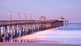 Imperial Beach pier at sunrise, California, USA. Image #27408