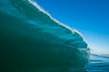 Breaking wave, morning, barrel shaped surf, California. USA. Image #27998